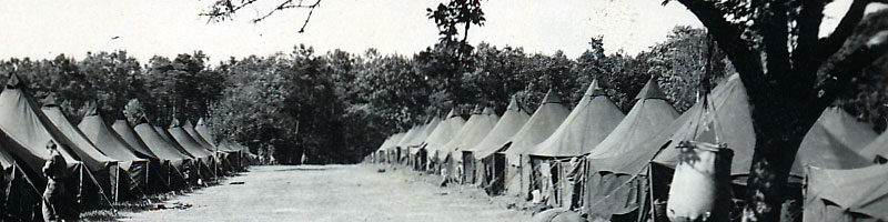 Tent City Lemans France 1946