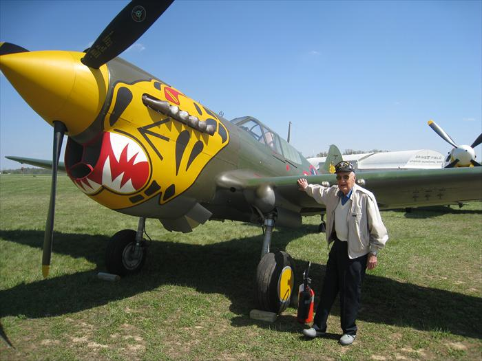 Arn touch the Chinese how to fly the P-40 Warhawk in the CBI.