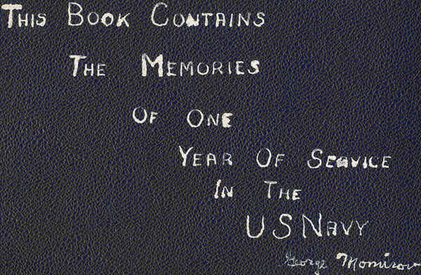 Shipmates book cover on the inside.