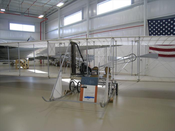 1911 Wright Model B airplane.