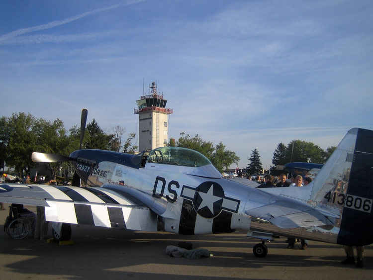 P-51 Mustang Crazy Horse.