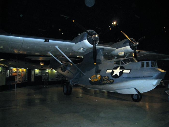 PBY Catalina was a flying boat built by Consolidated. During World War II the PBY would become infamous serving in every role the military could throw at her. Some of its duties included maritime patrol, anti-submarine warfare, search and rescue to name a few.  Around 4,000 were built and many still fly today as firefighting. The PBY was prominently featured in the movie Midway were it spots the Japanese carriers.