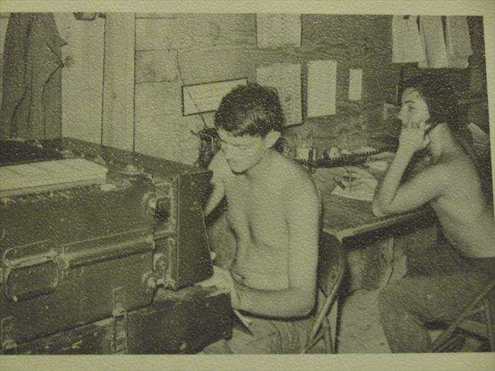 The fire direction center,I know the faces but can't remember the names.    c btry 1/27