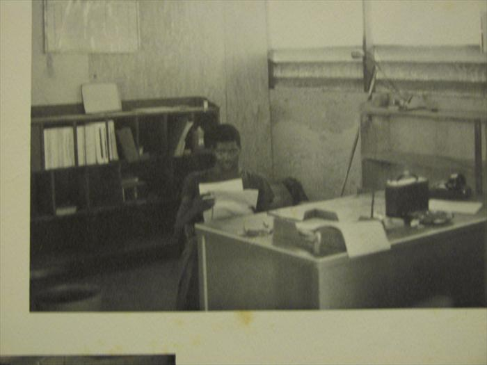 This looks like the very office where Cpt busted me to private 3rd class.     C btry 1/27.