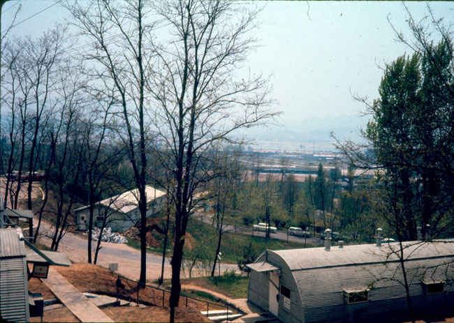 Youngson, Korea military headquarters 1973-1974.