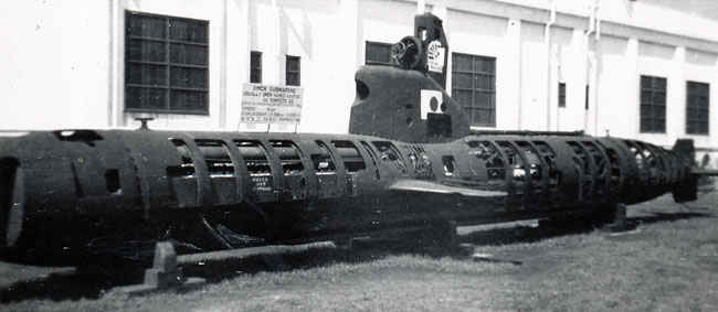 Japanese 3 Man Sub World War II. These came to be known as midget subs.