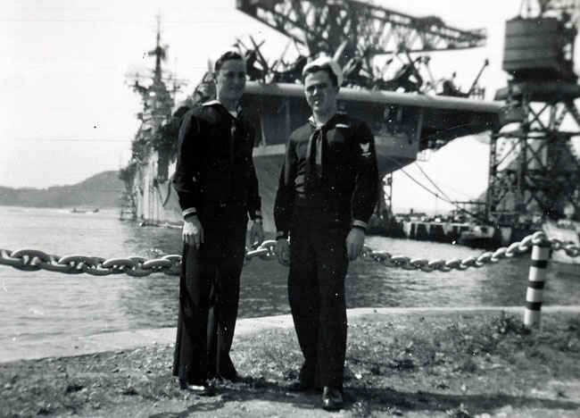 Yokosuka, Japan was one of two destinations the Boxer made during Korean War. The other was Tokyo.
