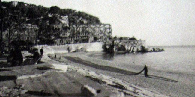 Marseilles, France 1945 while on a liberty pass to the French Riviera.