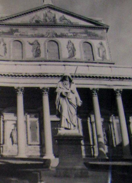 St. Peters in Rome 1945.