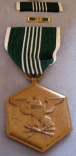 Army Commendation Medal.