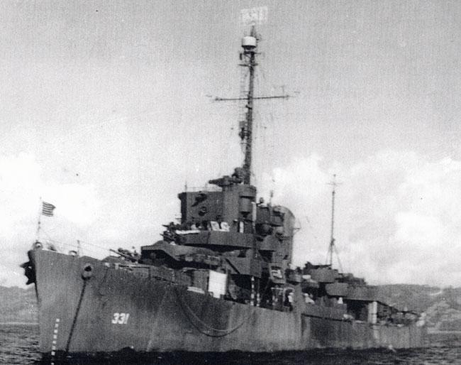 Picture of USS Koiner taken in Okinawa, Japan.